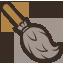иконка метла, хэллоуин, broom,