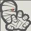 иконка мумия, mummy,