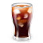 иконка коктейль, кола, cocacola, coca cola,
