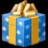 иконки подарок, новый год, рождество, present,