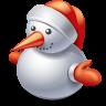 иконки снеговик, новый год, рождество, snowman,