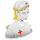 иконки  медсестра, врач, доктор, nurse,