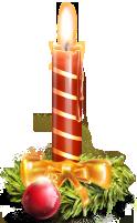 иконки свеча, новый год, candle,