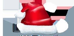иконки шапка, новый год, рождество, колпак, hat,