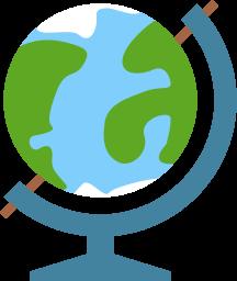 иконка глобус, география, макет земли, земля, планета,