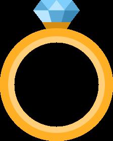 иконка кольцо, свадьба, украшение, подарок, любовь,