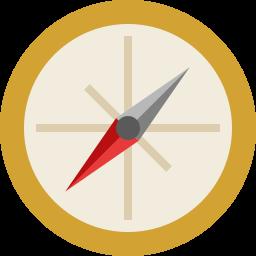 иконка компас, compass,