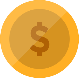 иконка деньги, валюта, монета, coin, доллар,
