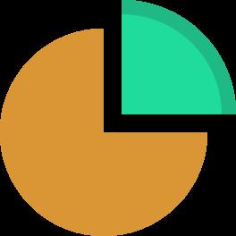 иконки круговая диаграмма, статистика, анализ,