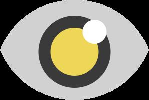 иконка просмотры, глаз, видимый, invisible,