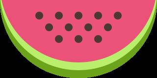 иконки арбуз, еда, ягода,
