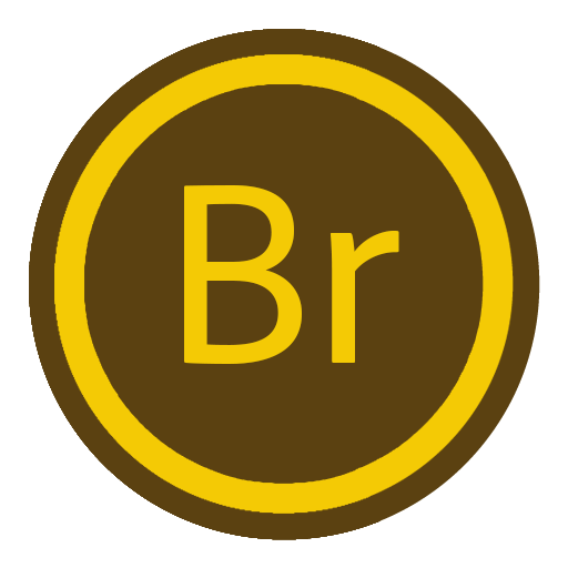 иконки adobe bridge,