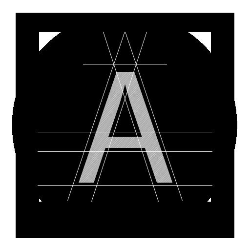 иконки fontviewer, шрифт,