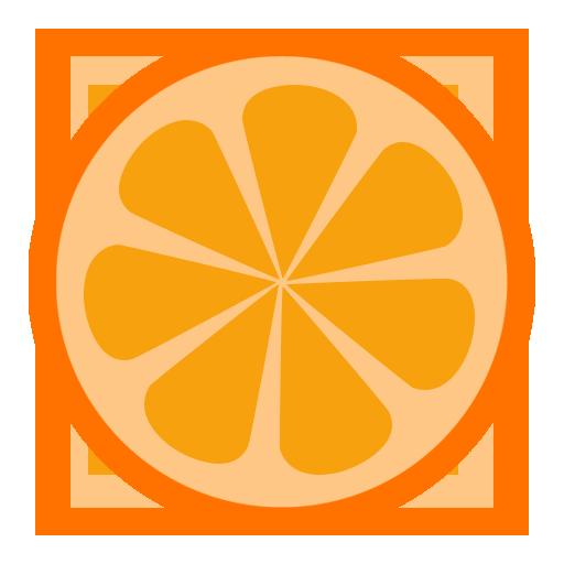 иконки OrangePlayer, апельсин,