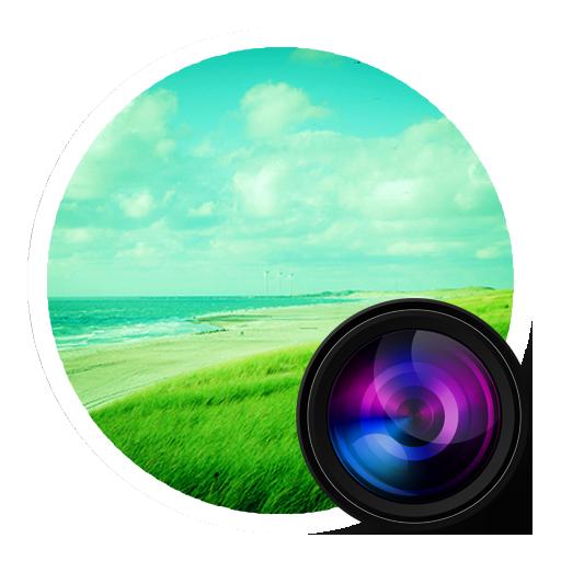иконки  iphoto, фотографии, фото, камера,