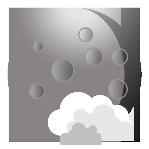иконки weather, погода, луна,