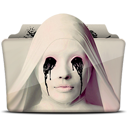 иконка amercian horror story, folder, папка,