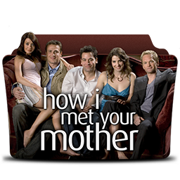 иконка how I met your mother, папка, folder,