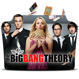 иконка the big bang theory, папка, folder,