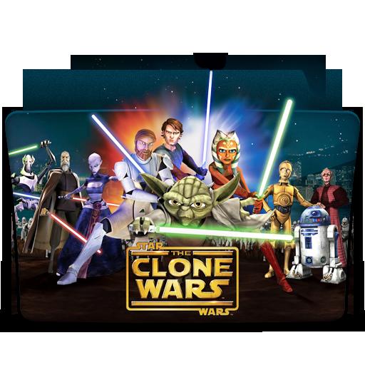 иконка star wars, clone wars, папка, folder,