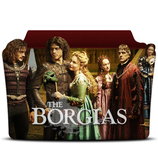 иконки the borgias, папка, folder,