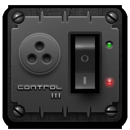 иконки control panel, панель управления,