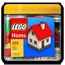 иконка home lego, лего, конструктор,