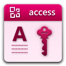 иконки microsoft access,