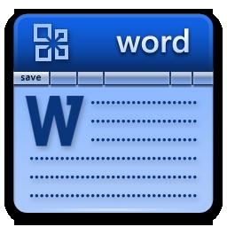 иконка microsoft word, ворд,