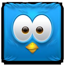 иконки twitter, твиттер, птица,