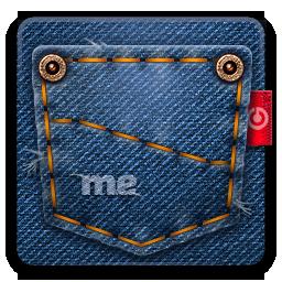 иконки user jeans, папка, джинсы,