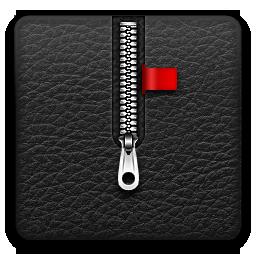 иконки zip, архив, молния,