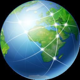 иконка global network, глобальная сеть, интернет,