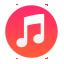 иконки itunes, музыка, ios7,