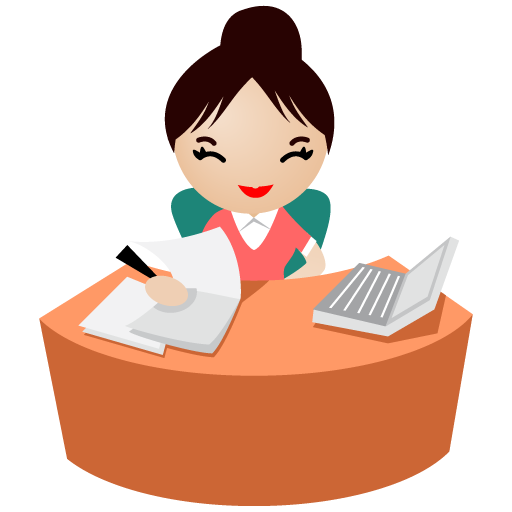 иконка office, women, женщина, офисный работник,