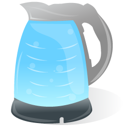 иконка электрический чайник,