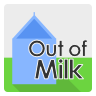 иконка out of milk,