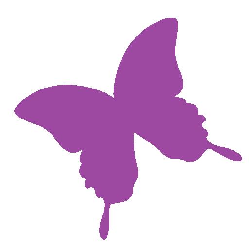 иконки indesign, бабочка,