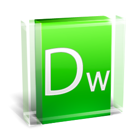 иконка adobe dreamweaver, adobe,