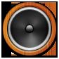 иконки speaker, звук, колонки,