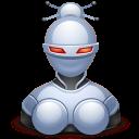 иконка robotess, робот,