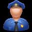 иконка officer, офицер, полицейский,