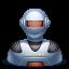 иконка robot, робот,