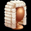 иконки judge, судья, парик,