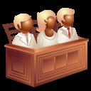 иконки jury law, присяжные,