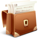 иконка lawyer briefcase, адвокатский портфель,
