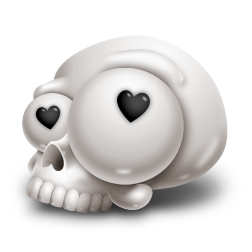 иконка kulo, череп,