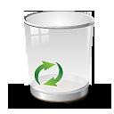 иконка recycle, корзина,
