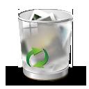 иконка recycle, корзина, полная корзина,