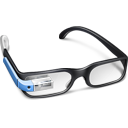 иконка google glasses, google glass,